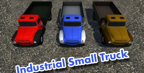 Industrial Small Truck Pack - I - 3DOcean Item for Sale