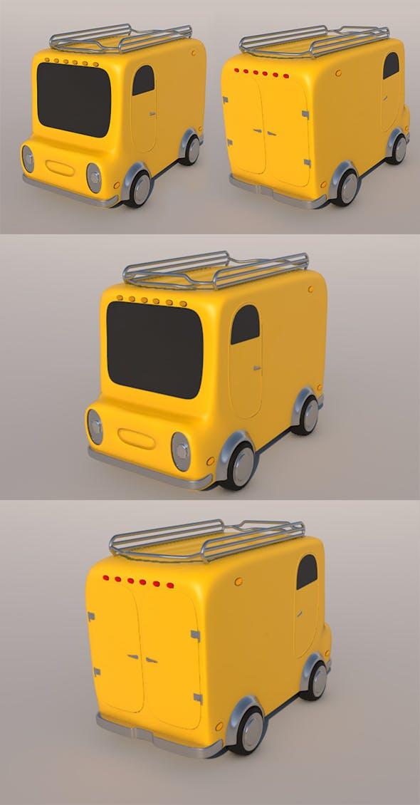 Car anima - 3DOcean Item for Sale