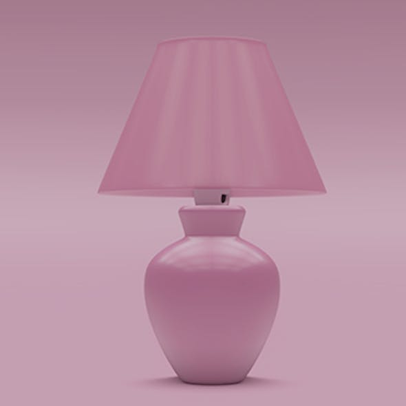 Morten Table Lamp 3D model