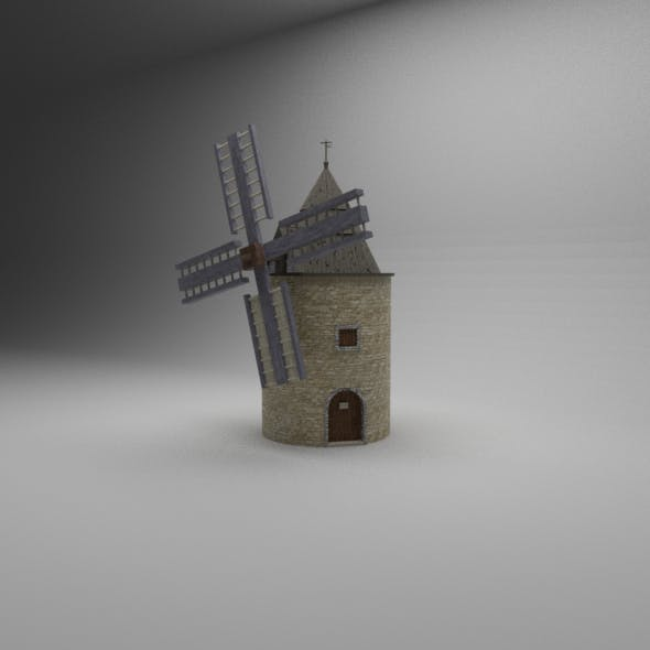 Windmill Low-Poly