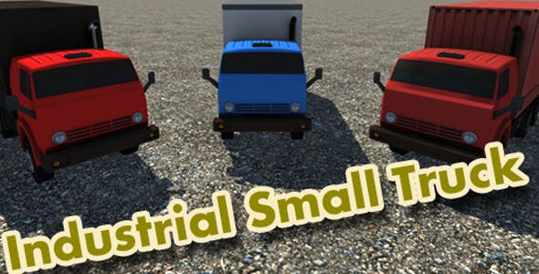 Industrial Small Truck Pack - VII - 3DOcean Item for Sale