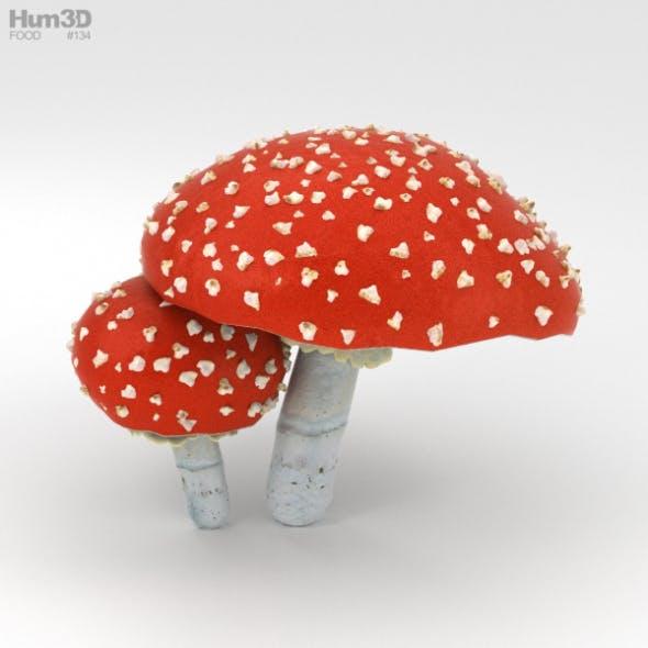 Amanita - 3DOcean Item for Sale