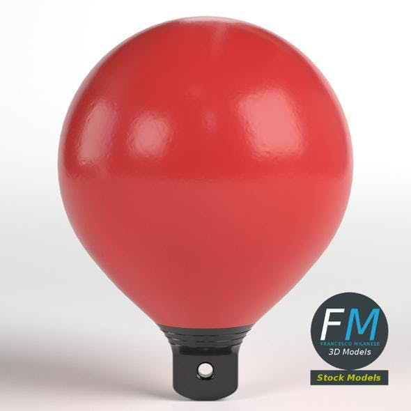 Beach marker buoy - 3DOcean Item for Sale
