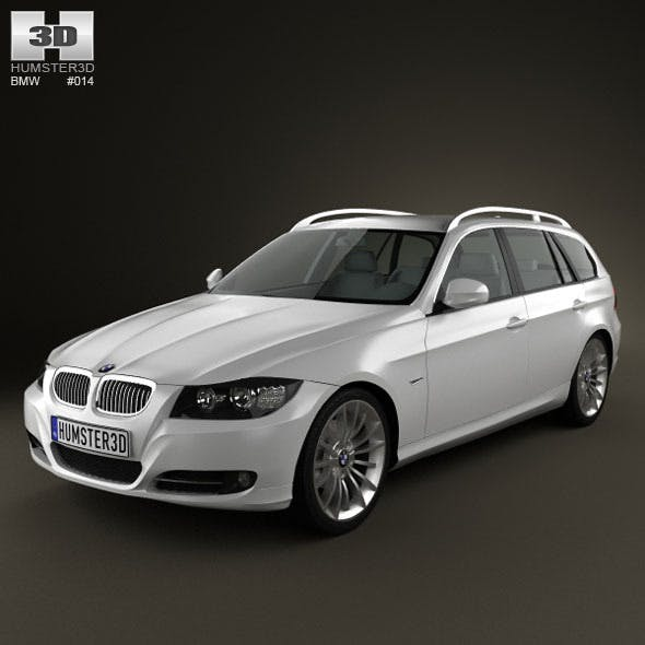 BMW 3 series Touring - 3DOcean Item for Sale