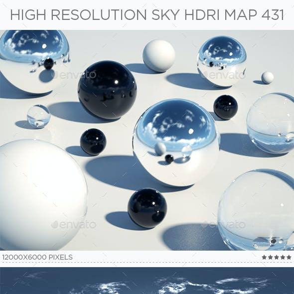 High Resolution Sky HDRi Map 431