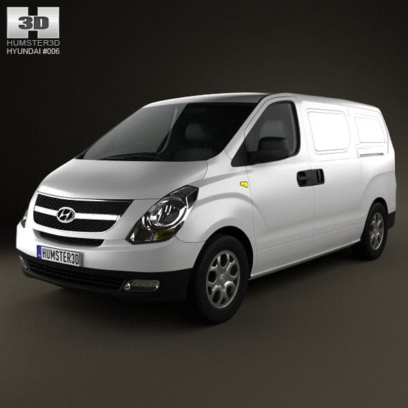 Hyundai H1 iLoad 2010 - 3DOcean Item for Sale