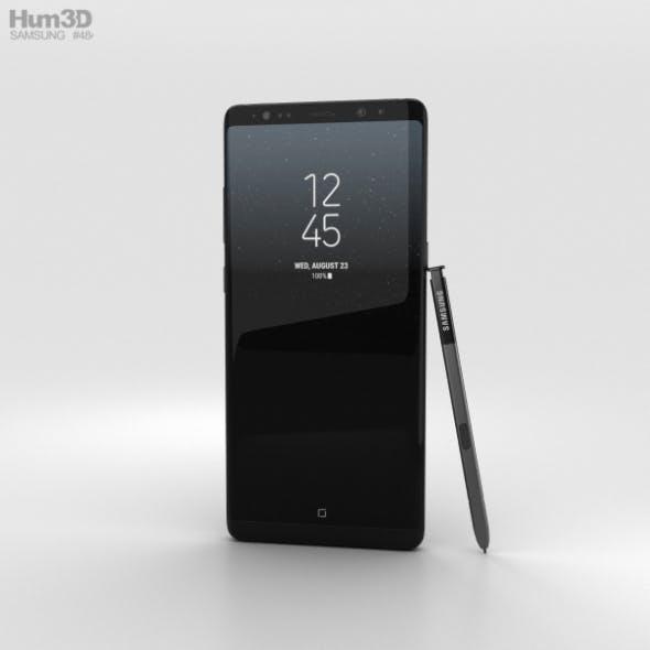 Samsung Galaxy Note 8 Midnight Black - 3DOcean Item for Sale
