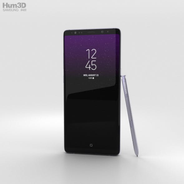Samsung Galaxy Note 8 Orchid Grey - 3DOcean Item for Sale