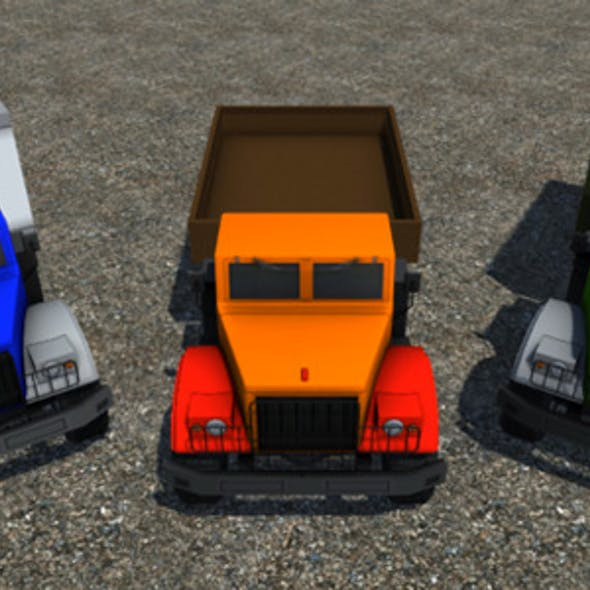 Industrial Cargo Truck Pack