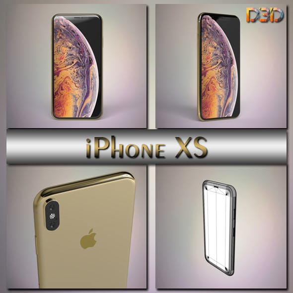 iPhone XS - 3DOcean Item for Sale