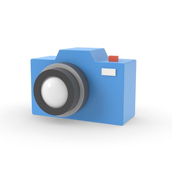Camera simple design graphic cartoon