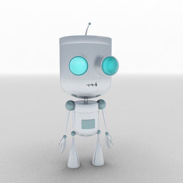 Robot humanoid - 3DOcean Item for Sale