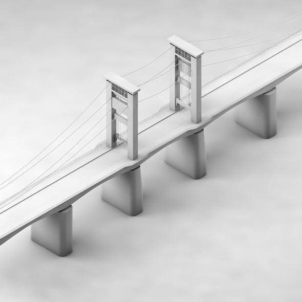 Ampera Bridge - 3DOcean Item for Sale