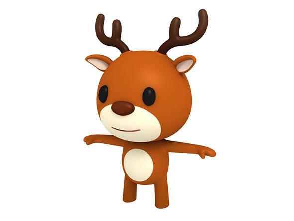 Little Deer - 3DOcean Item for Sale