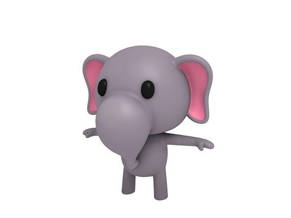 Little Elephant - 3DOcean Item for Sale