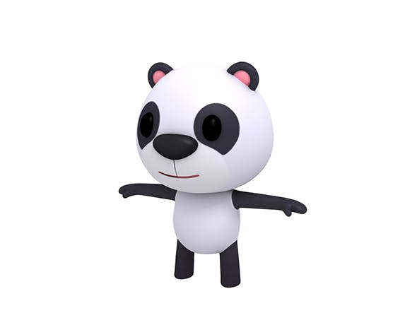 Little Panda - 3DOcean Item for Sale