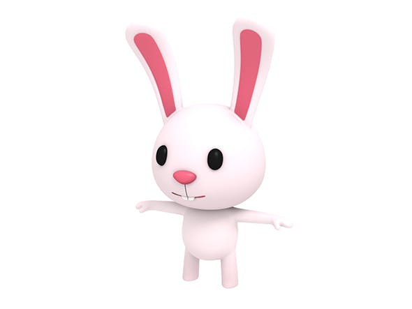 Little Rabbit - 3DOcean Item for Sale