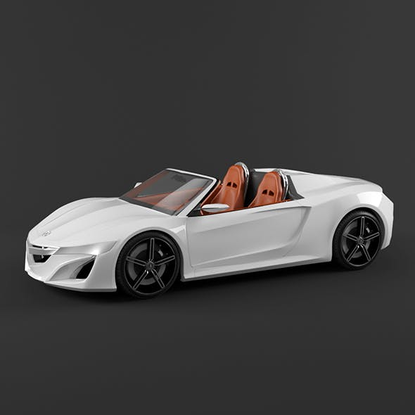 Acura NSX Roadster - 3DOcean Item for Sale