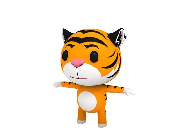 Little Tiger - 3DOcean Item for Sale