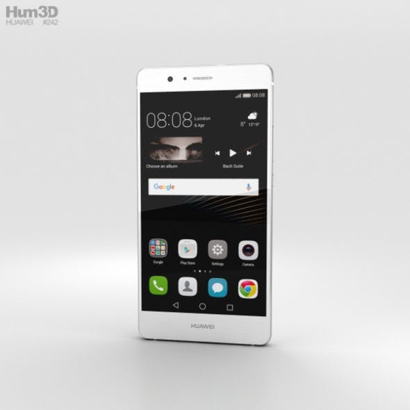 Huawei P9 Lite White - 3DOcean Item for Sale