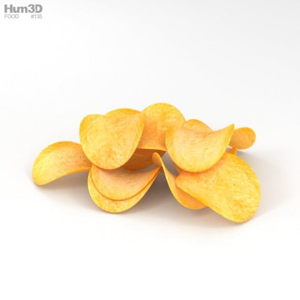 Potato Chips - 3DOcean Item for Sale
