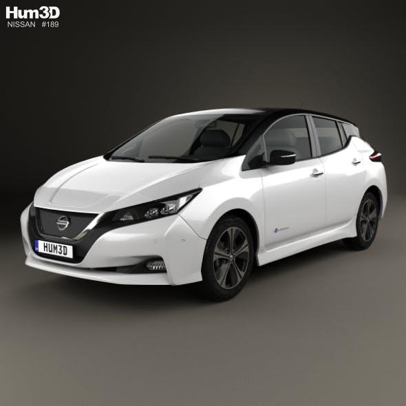 Nissan Leaf 2018 - 3DOcean Item for Sale