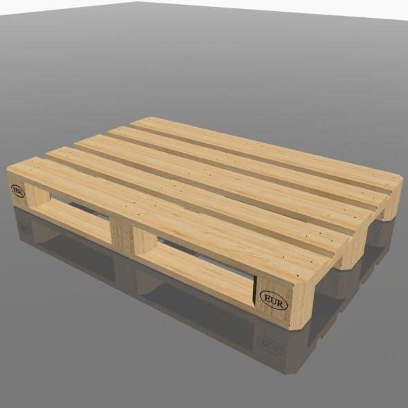 Euro pallet - 3DOcean Item for Sale