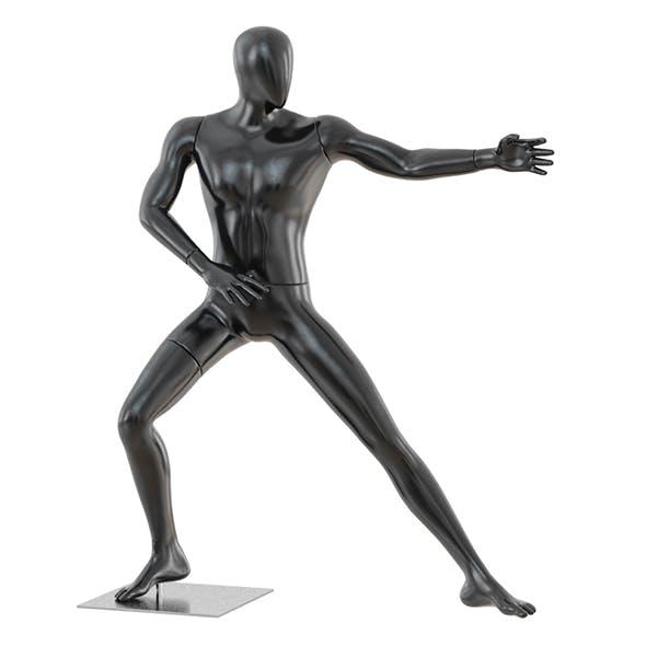 Faceless mannequin martial arts 39
