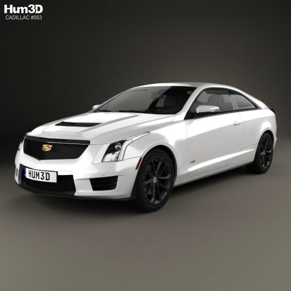 Cadillac ATS-V coupe 2017 - 3DOcean Item for Sale
