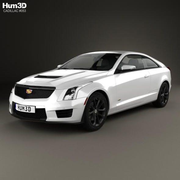 Cadillac Ats V Coupe >> Cadillac Ats V Coupe 2017 By Humster3d 3docean