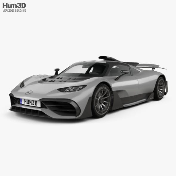 Mercedes-AMG Project ONE 2017 - 3DOcean Item for Sale