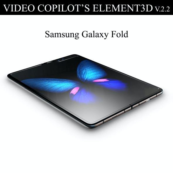 Element3D - Samsung Galaxy Fold
