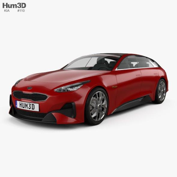 Kia Proceed 2017 - 3DOcean Item for Sale