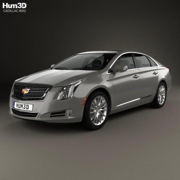 Cadillac XTS Platinum 2017 - 3DOcean Item for Sale