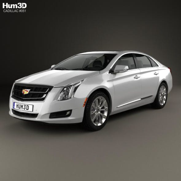 Cadillac XTS 2016 - 3DOcean Item for Sale