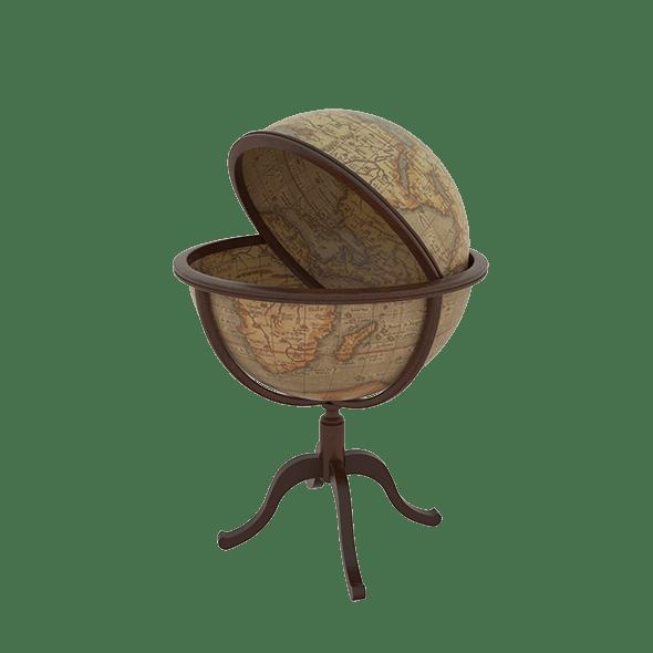Globe bar - 3DOcean Item for Sale