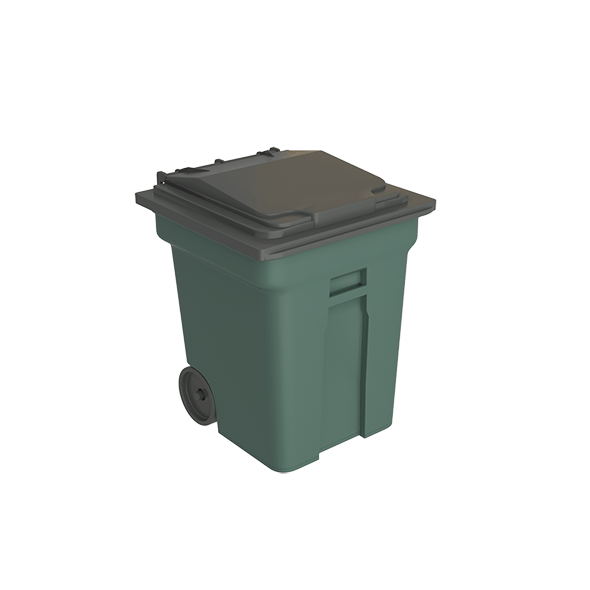 Trash Container - 3DOcean Item for Sale