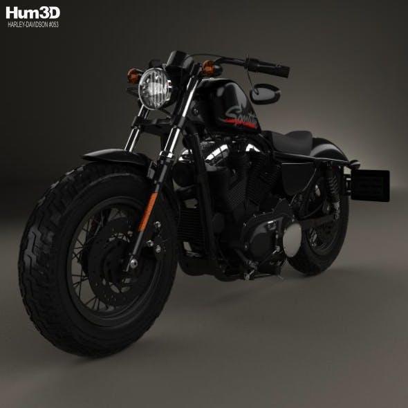 Harley-Davidson Sportster 1200 Forty-Eight 2013 - 3DOcean Item for Sale