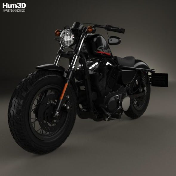 Harley-Davidson Sportster 1200 Forty-Eight 2013