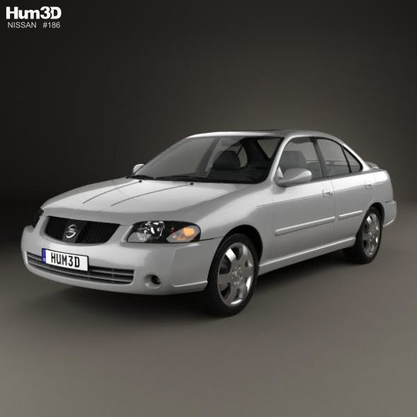 Nissan Sentra SE-R 2004 - 3DOcean Item for Sale
