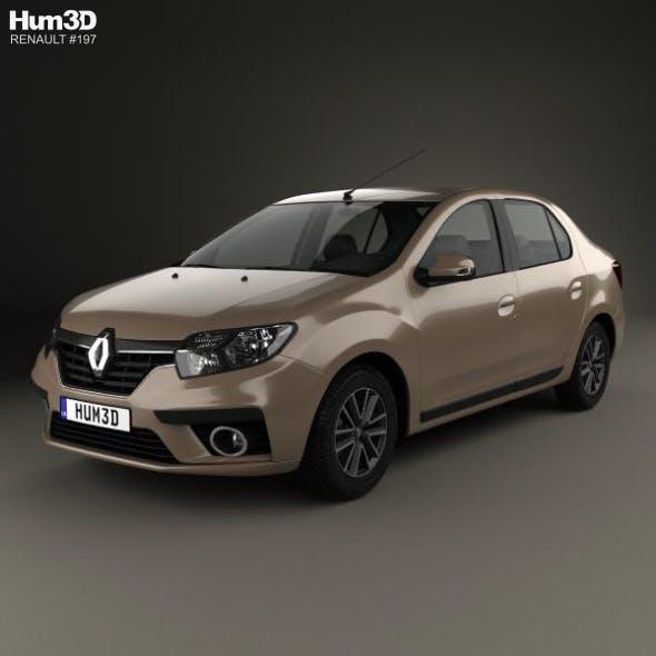 Renault Symbol 2017 - 3DOcean Item for Sale
