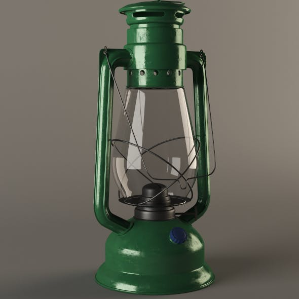 Gas (Kerosene) Lamp
