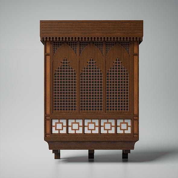 Islamic Window (Mashrabiya) - 3DOcean Item for Sale