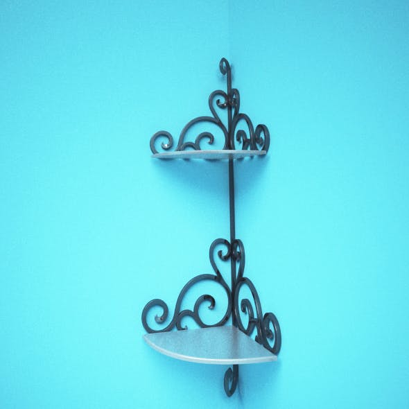 wrought iron wall decor - 3DOcean Item for Sale