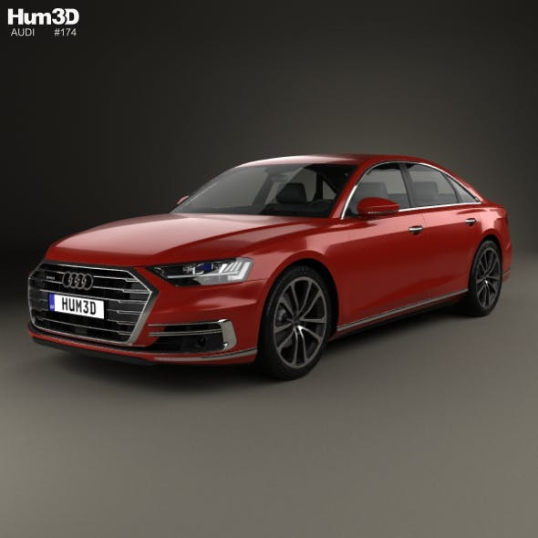 Audi A8 (D5) 2017 - 3DOcean Item for Sale