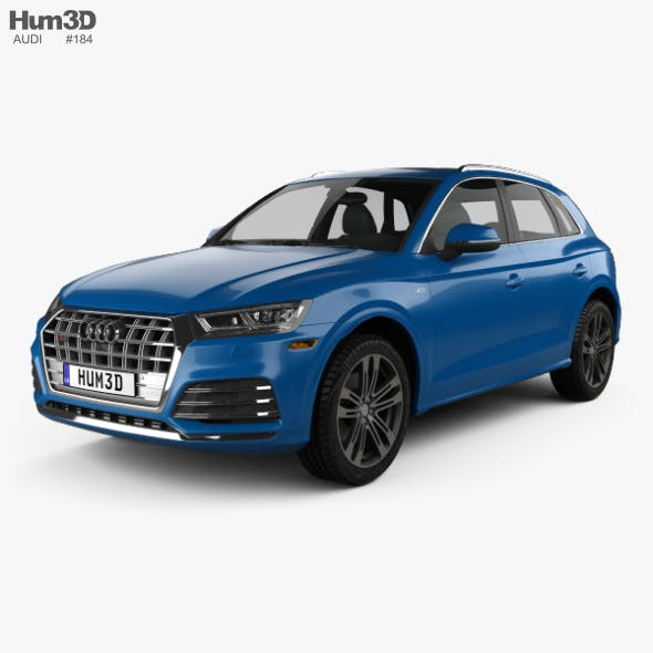 Audi SQ5 2017 - 3DOcean Item for Sale