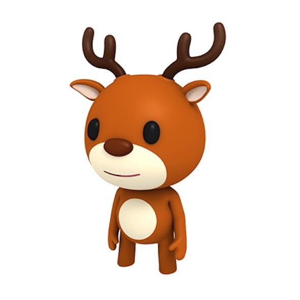 Rigged Little Deer
