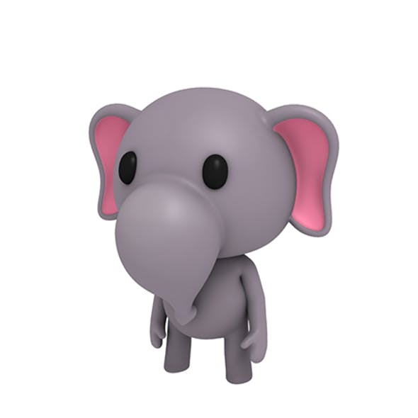 Rigged Little Elephant