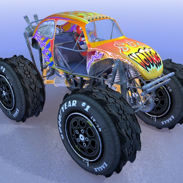 Monstertruck Beetle