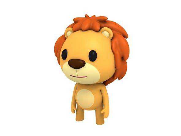 Rigged Little Lion - 3DOcean Item for Sale